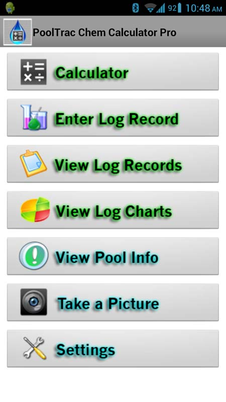 Chemcalc Pro Swimming Pool Chemical Calculator Mobile Software