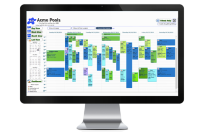 Pooltrac Swimming Pool Service Management Software For